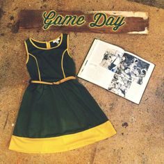 Get ready for August 31 + visit our Game Day shop @Roots Greenville Greenville Boutique to get all of your green and gold #baylorfootball #gameday #rootsnewarrivals