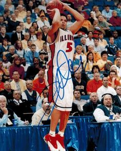 Deron Williams Autographed 8x10 Photo #SportsMemorabilia #IllinoisFightingIllini