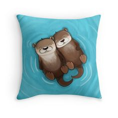 I Love You a Lotter Throw Pillows