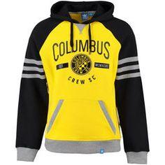 Men's Columbus Crew SC adidas Yellow Originals Pullover Hoodie
