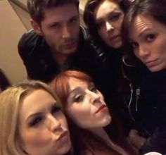 And Jensen's the prettiest one in the picture.