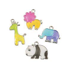 Zoo Animal Charms - OrientalTrading.com