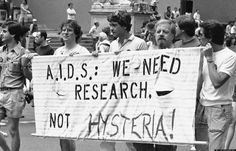 AIDS in New York: An Interview with Jean Ashton. A group advocating AIDS research marches down Fifth Avenue during the annual Lesbian and Gay Pride parade in New York, June Mario Suriani/Associated Press. The Normal Heart, Country Hits, Thing 1, Health Department, Historical Society, Historical Images, One In A Million, Gay Pride, Research