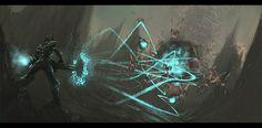 Wreck-It Ralph Visual Development: Hero's Duty by Ryan Lang | Illustration | 2D | CGSociety