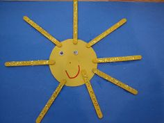 Summer theme: Have kids make the craft and glue on pictures of items that protect them in the sun (sunscreen, sun hat, shady tree, water, etc...).
