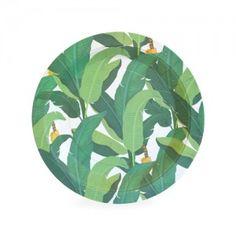 Dessert Plate-Troppo Leaf (12Ct)