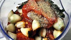 Sos pentru paste din gogosari copti, rosii si parmezan Parmezan, Paste, Romanian Food, Pot Roast, Foodies, Healthy Eating, Ethnic Recipes, Carne Asada, Eating Healthy
