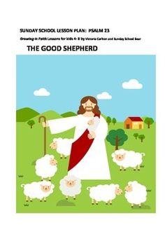 Description of GOOD SHEPHERDThis Sunday school lesson can stand alone or it may be used as a lesson to follow my other weekly lessons.The lesson introduces the children to the wonderful 23rd Psalm and leads them through learning activities that help them understand this deeply and feel the great blessings that we experience having such a wonderful shepherd!Children are provided with a stimulus picture of a modern day shepherd, and then a paraphrased version of Psalm 23 is provided if you…