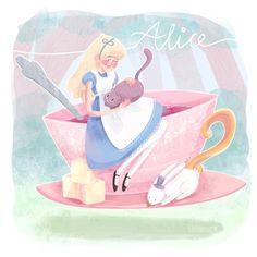 Alice in Wonderland by greenmaggot