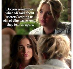 AWW nicely said Han Pll Quotes, Qoutes, Pretty Little Lairs, Lucy Hale, Do You Remember, Demi Lovato, Best Shows Ever, Selena Gomez, Ariana Grande