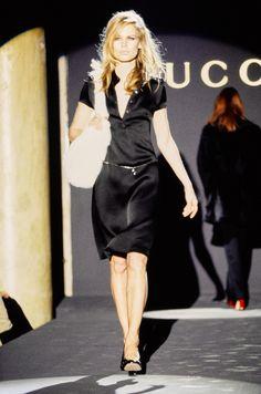 Gucci Fall 1995 Ready-to-Wear Fashion Show - Amber Valletta