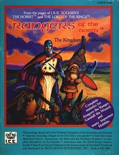 Product Line: Middle Earth Roleplaying  Product Edition: M1  Product Name: Rangers of the North  Product Type: Campaign Setting  Author: John David Ruemmler  Stock #: 3000  ISBN: 0-915795-22-1  Publisher: ICE  Cover Price: $10.00  Page Count: 56  Format: Softcover  Release Date: 1984  Language: English