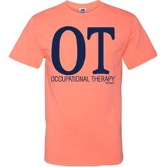 Come check out the hottest new color in our t-shirt line! You will be sure to stand out in our neon coral shirt, all while letting people know you love OT!