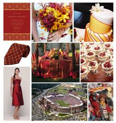 FSU Themed Wedding...a little too much? I love it anyway!