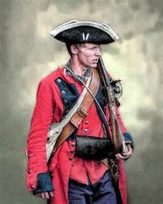 French and Indian War British Royal American Soldier.