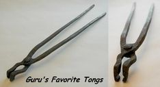 Hand Forging Blacksmiths and Foundry Tongs : Blacksmithing How-to on anvilfire iForge