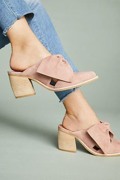 Anthropologie Jeffrey Campbell Cyrus Bow Mules
