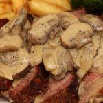Bring some extra excitement to steak night with this sensational Madeira and mushroom sauce. Steak And Mushrooms, Stuffed Mushrooms, Food For Thought, Mushroom Sauce, Empanadas, Food And Drink, Pork, Recipes, Creme