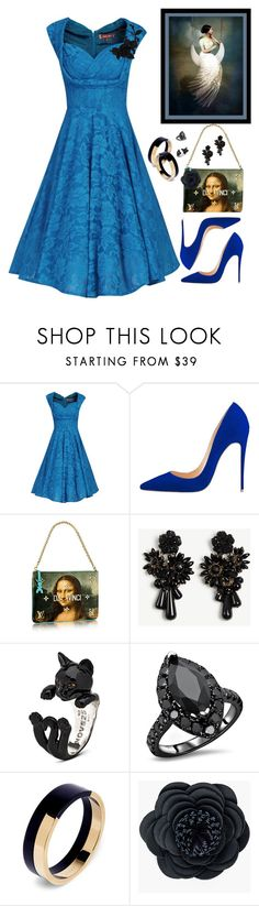 """~pleated dress#1~"" by confusgrk ❤ liked on Polyvore featuring Jolie Moi, Ann Taylor, Marni, Chico's, olgafacesrok and AmiciMei"