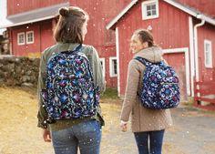 Lighten Up Grand Backpack in Bramble Vines Backpack Bags, Drawstring Backpack, Types Of Handbags, Bramble, Vera Bradley Backpack, Beautiful Bags, Daily Wear, Accessories Shop, Vines