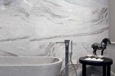 Ceramic polished porcelain tiles for elegance: Rex Gallery showroom