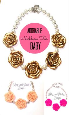 Lola and Darla Designs: Must-Have Adorable Handmade Necklaces for Baby Girl