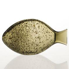 "KAJ FRANCK - Glass sculpture ""Ruutana"" for Nuutajärvi Notsjö 1955, Finland.   [l. 20 cm] Glass Design, Design Art, Kitchenware, Tableware, Bukowski, Helsinki, Finland, Modern Contemporary, Scandinavian"