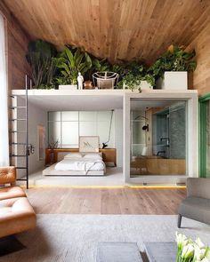 Minimal Interior Design Inspiration - Home Design Interior Design Examples, Interior Design Inspiration, Home Interior Design, Ikea Interior, Design Ideas, Bedroom Inspiration, Natural Modern Interior, Interior Logo, Interior Colors