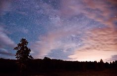 Starry Montana sky, Saint Ignatius, MT