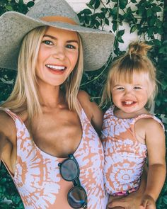 Mommy and Me Swimsuit Mother Daughter Family Matching Bathing Suit Mom and Girls Swimwear Monikini, Future Mom, Future Daughter, Cute Kids, Cute Babies, Barefoot Blonde, Cute Family, Family Goals, Sissy Boys, Mom And Baby