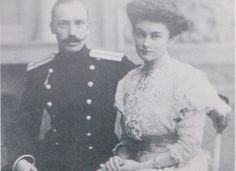 Prince Anatole Anatolievitch Gagarine with his wife Tatiana Mikhailovna Miklachevsky