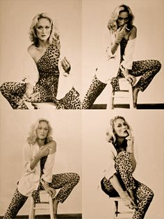 I'm sure you've seen stuff like this before with the Marilyn Monroe photos. Idea is to keep you in the same clothes, same backdrop (anywhere) but just in different clothes or different facial expressions***  Meryl Streep
