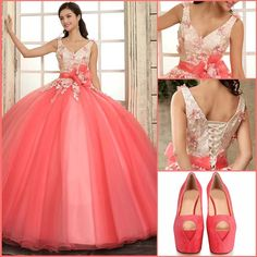 Wow!Perfect pink dress!My love!