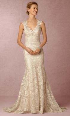 BHLDN Shea wedding dress currently for sale at 50% off retail.