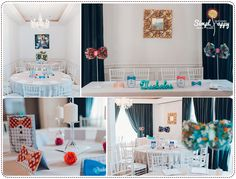 Baby Boy Christening Party Theme by Simply Happy