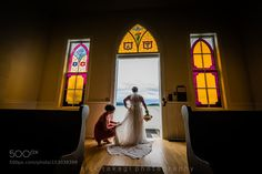 Roche Harbor wedding by Ricktakagi