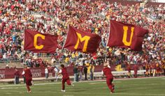 """Going to school at Central Michigan University is such a wonderful and wild experience. Chippewas are truly one of a kind, and we all connect through the quirks of our campus. Here it is- the 40 true-tell signs of being a Central Michigan University Chippewa. 1. Yelling """"Fire Up Chips"""" is a logical answer for everything."""