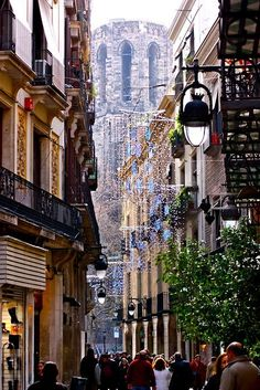 Barcelona, Spain...I totally adore Barcelona!  I would love to live there for at least a year!