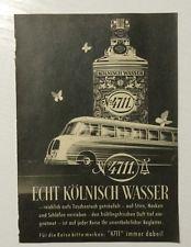 Werbung ca A5: 4711 Echt Kölnisch Wasser   1955     (20091441)
