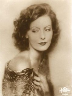 Greta Garbo (1905 - 1990) - A Swedish film actress. Garbo was an international star and icon during Hollywood's silent and classic periods