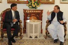 Nawaz met with IHC Sharat Sabharwal in Lahore their house riwind road.