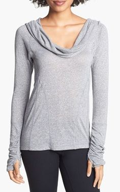 Workout Sweater knit hoodie @Nordstrom  http://rstyle.me/n/jar2rnyg6