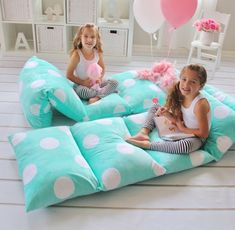 Butterfly Craze Girl's Floor Lounger Seats Cover and Pillow Cover Made of Super Soft, Luxurious Premium Plush Fabric - Perfect Reading and Watching TV Cushion - Great for SLEEPOVERS Slumber Parties. You provide the standard-or king-sized pillows. Bed Covers, Pillow Covers, Floor Pillows, Bed Pillows, Plush Pillow, Pillow Lounger, Cheap Pillows, Pillow Mattress, Slumber Parties