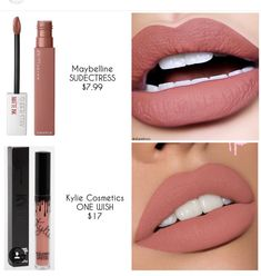 21 Affordable Lip Colors Ideas Make Up Fashionable - eye-makeup Beauty Make-up, Beauty Dupes, Beauty Skin, Beauty Hacks, Beauty Women, Natural Beauty, Beauty Style, Drugstore Makeup Dupes, Mac Makeup