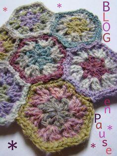 Crochey hexagon
