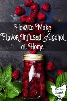 Infusing alcohol is a great way to take your drink making to the next level, this guide will give you a great starting point with lots of recipe ideas Best Mixed Drinks, Mixed Drinks Alcohol, Drinks Alcohol Recipes, Yummy Drinks, Alcoholic Drinks, Alcohol Shots, Beverages, Fruity Cocktails, Winter Cocktails