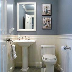 Tiny Bathroom Ideas On Pinterest Half Baths Tiny Bathrooms And Pedestal Sink