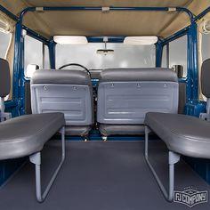 1982 Toyota LandCruiser FJ40 Medium Blue #fj40 #fjcompany #fjrestoration
