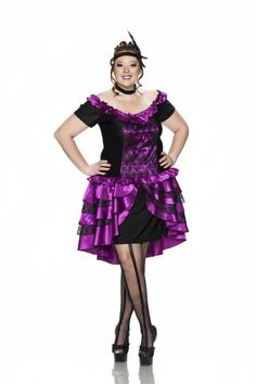 0fb4d5cba321 Plus Size Wild West Showgirl Moulin Rouge Burlesque Can Can Dancer Saloon  Girl  DeliciousSexywearofNewYork