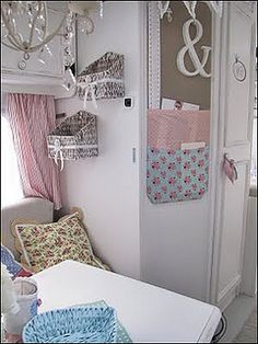 shabby chic caravan by Faerie Nuff, via Flickr